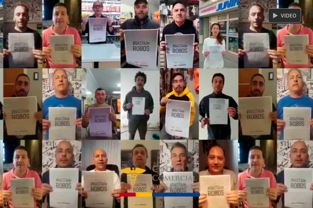 #BastaDeRobos: el pedido de los comerciantes santafesinos -  -
