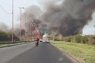 Incendio en la zona del Hipódromo