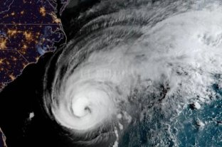 El huracán Humberto sube a a categoría 2 en su trayecto hacia las Bermudas
