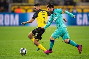Messi jugó sus primeros minutos en la temporada