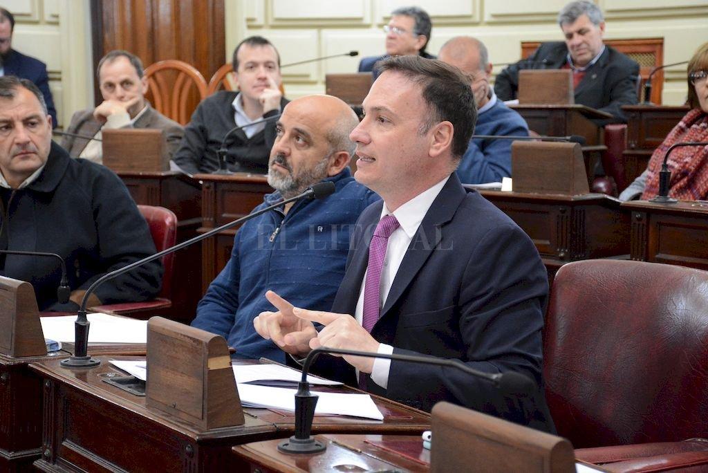 El senador radical Lisandro Enrico <strong>Foto:</strong> Archivo