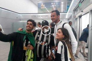Atlético Mineiro llegó a Rosario y se traslada a Santa Fe para jugar con Colón