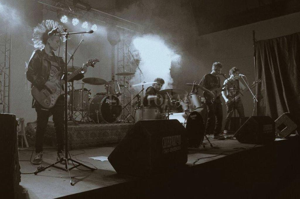 Pasta Base Underpunk será una de las bandas que actuará en el encuentro. <strong>Foto:</strong> Gentileza producción