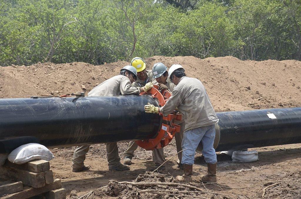 U$S 1800 millones invertidos y un año de demoras en su operación; finalmente se dan los pasos para que el gas llegue a la gente. Crédito: Archivo El Litoral