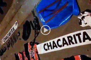 Detienen a barras de Chacarita armados con una ametralladora