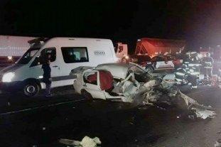 Murieron dos hermanas en un choque en Córdoba