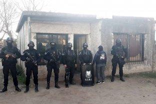 Golpe al narcotráfico: realizaron 65 allanamientos en el sur provincial