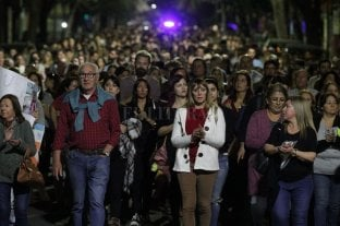 Fotos: masivo pedido de justicia por Julio Cabal  -  -