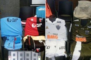 Colón jugará con la camiseta roja y negra frente a Atlético Mineiro