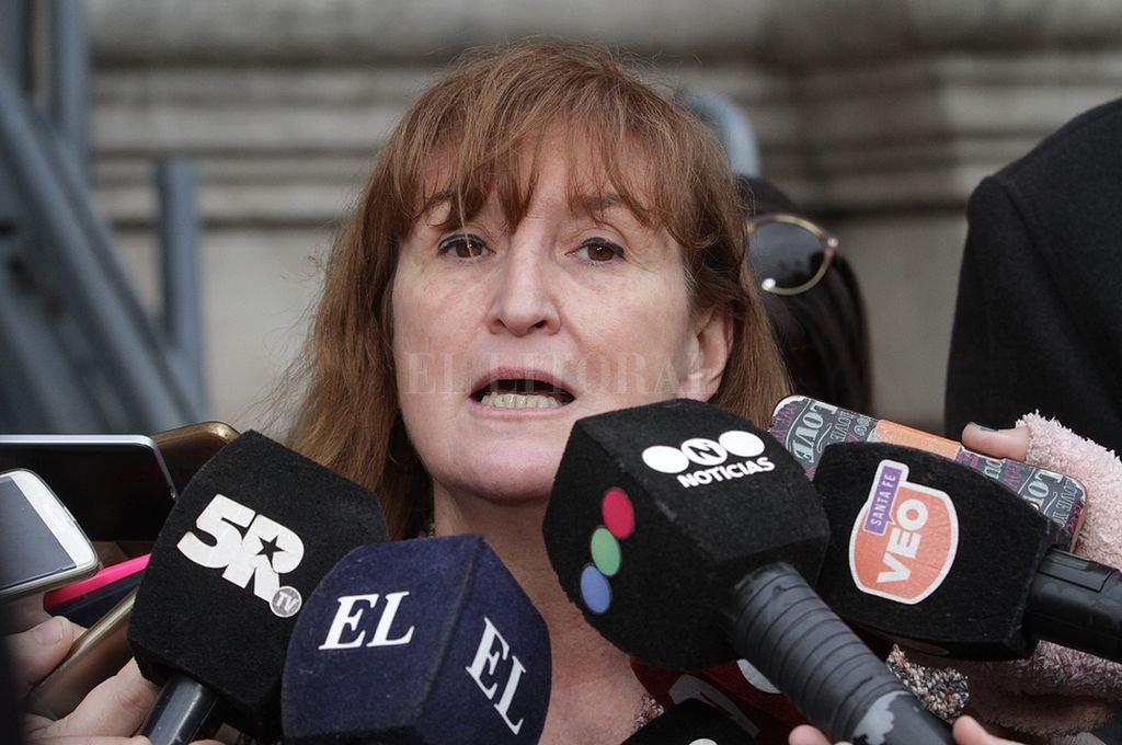 Andrea Uboldi, ministra de Salud de la provincia. <strong>Foto:</strong> Mauricio Garín