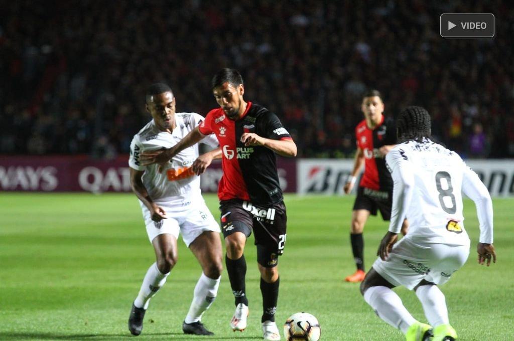 Colón cae ante Atlético Mineiro -  -