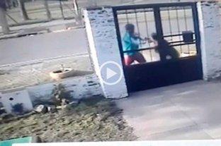Video: intentó robar en la Casa de Madres y terminó detenido -  -
