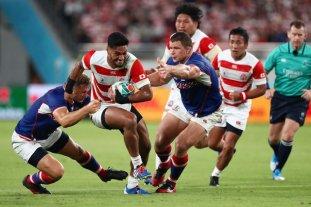Japón superó a Rusia por 30 a 10 en el inicio de la Copa del Mundo de rugby