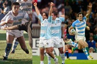 Infografía: el desempeño de Argentina en los Mundiales de Rugby -  -