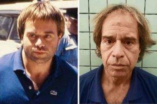 """La Justicia brasileña analiza deportar a """"Maguila"""" Puccio a la Argentina - Daniel """"Maguila"""" Puccio tras su detenciones en 1985 (izquierda) y en 2019 (derecha). -"""