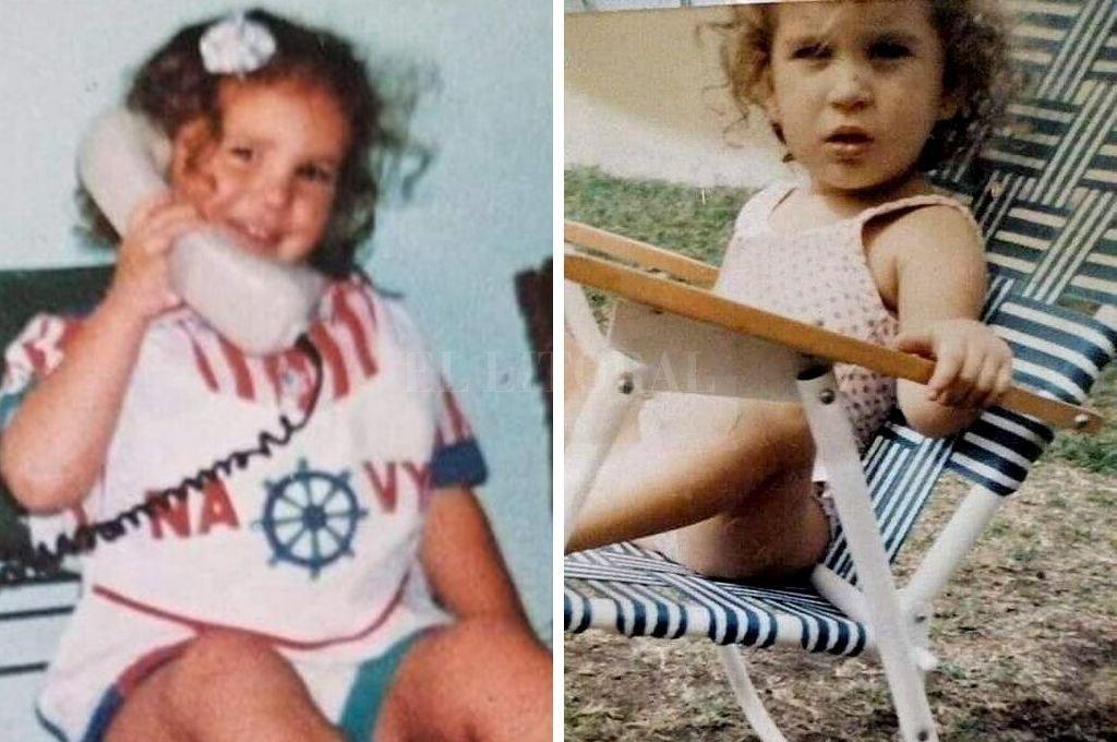 La imagen que circuló hace 24 años cuando se inició la búsqueda desesperada de la entonces niña de 4 años. <strong>Foto:</strong> Captura digital