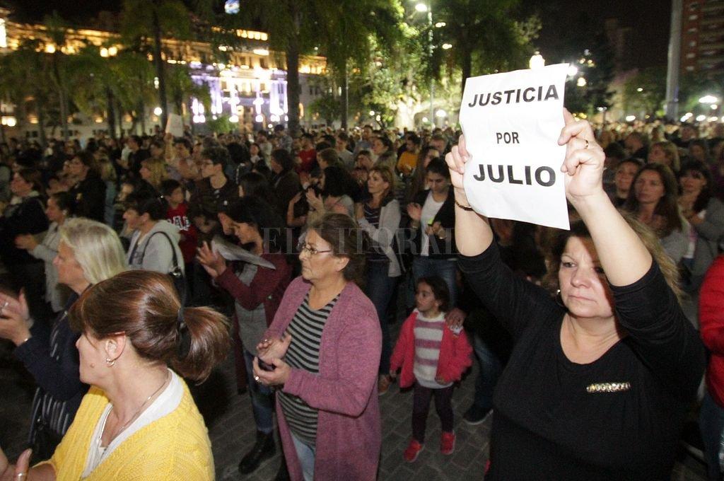 Un detenido por el crimen de Julio Cabal -  -
