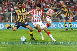 Unión cortó la racha negativa con un empate ante Rosario Central -