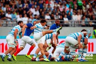 Mundial de Rugby: Argentina - Francia en fotos