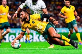Australia logró un trabajoso triunfo ante Fiyi por 39 a 21