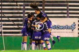 Fútbol femenino: Gimnasia superó a Huracán