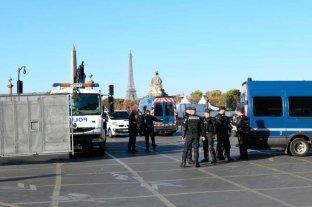 Más de 100 detenidos en París en una nueva protesta de los 'chalecos amarillos'