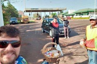El periplo de un grupo de hinchas de Colón para llegar a Belo Horizonte