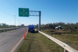 Siniestro en la circunvalación oeste de Santa Fe: una persona fallecida -