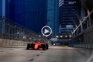 """Leclerc volvió a hacer la """"pole"""" y largará primero en el Gran Premio de Singapur"""