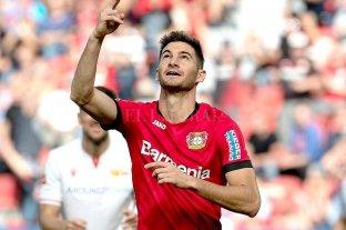 Gol de Alario en el triunfo del Leverkusen