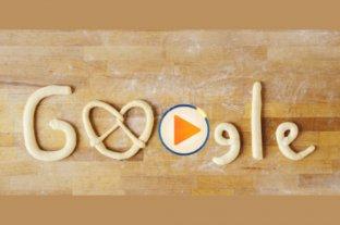 Oktoberfest: doodle para el pretzel