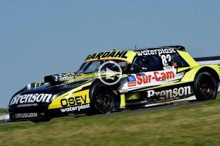 Mauricio Lambiris se quedó con la pole del TC en Paraná - Mauricio Lambiris. -
