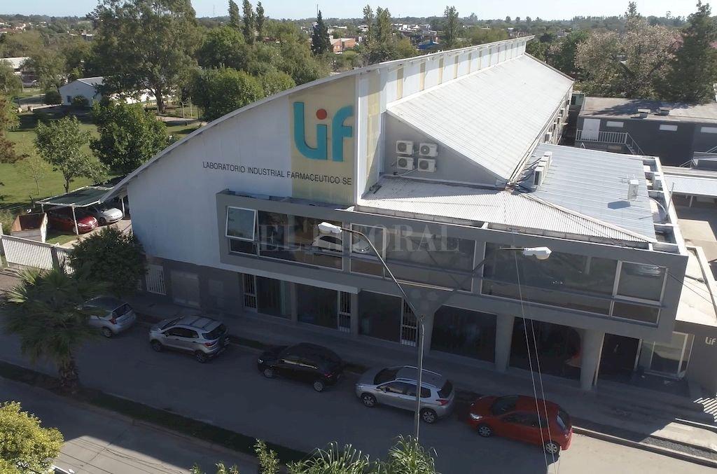 Santafesino. El Laboratorio Industrial Farmacéutico, ubicado al norte de la ciudad de Santa Fe. Crédito: Archivo El Litoral