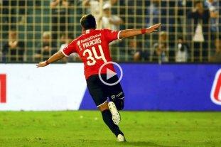 Independiente levantó cabeza y le ganó 1 a 0 a Atlético Tucumán -  -