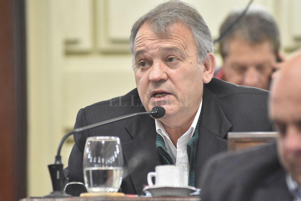 Gabriel Real, diputado del PDP <strong>Foto:</strong> El Litoral
