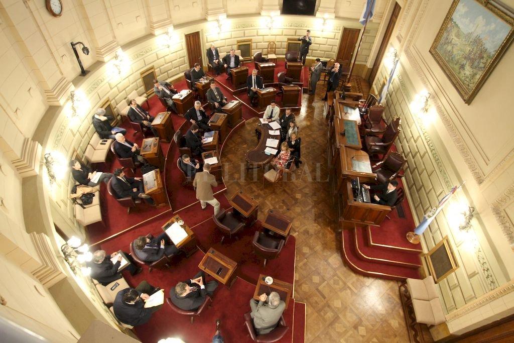 Senado santafesino <strong>Foto:</strong> Archivo El Litoral