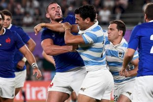 Matías Moroni fue advertido por la World Rugby por un acto de juego sucio