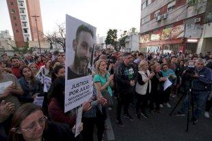El Municipio desmiente que el imputado por el crimen de Julio Cabal sea empleado municipal - Marcha que se realizó en pedido de justicia. -