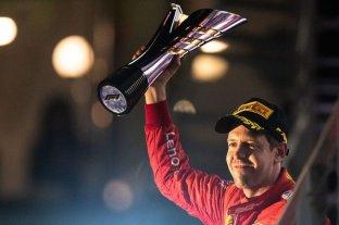 Fórmula 1: Vettel recuperó la sonrisa -  -
