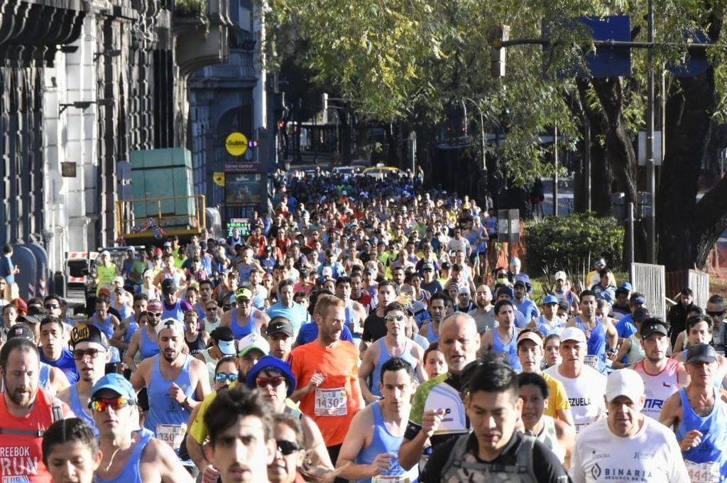 Multitud. Los 42 K trascendieron el mundo por su cantidad de participantes y grandes actuaciones. Crédito: Agrupación Ñandu
