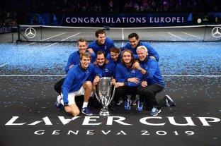 Europa ganó la tercera edición de la Laver Cup y mantuvo su hegemonía