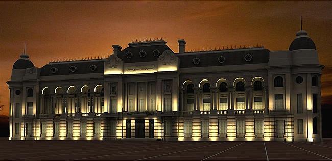 Licitar n las obras de iluminaci n exterior de la casa de for Gobierno exterior