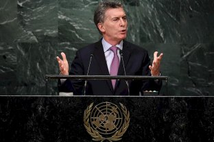 Macri viaja a Nueva York para asistir a la cumbre de la ONU -  -