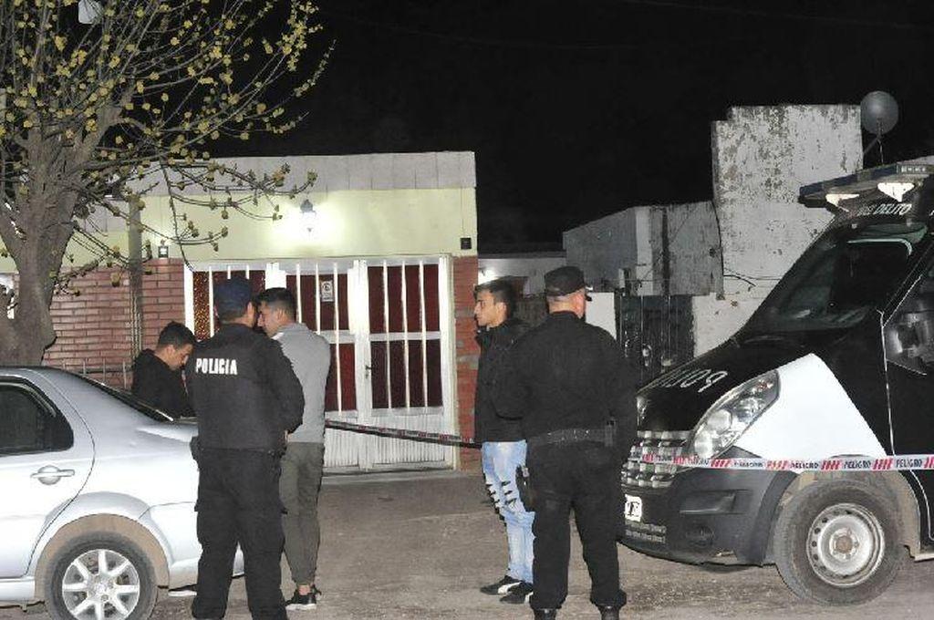 La vivienda donde fue hallada muerta la joven de 17 años <strong>Foto:</strong> La Voz de San Justo