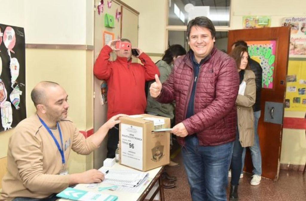 Mariano Gaido, intendente electo de Neuquén <strong>Foto:</strong> Gentileza