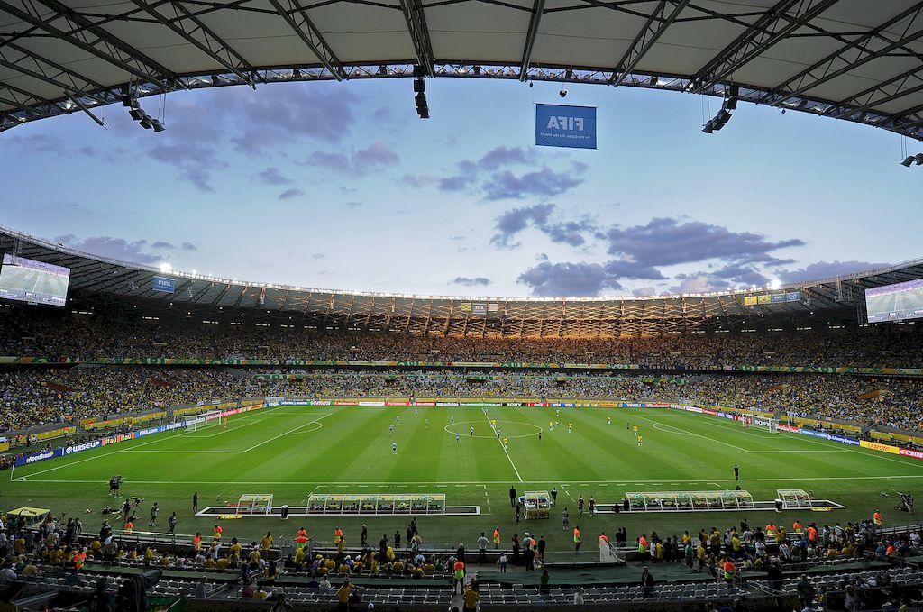 Estadio Mineirao Crédito: Gentileza
