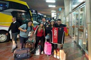 Éxodo Sabalero: Los hinchas de Colón rumbo a Brasil