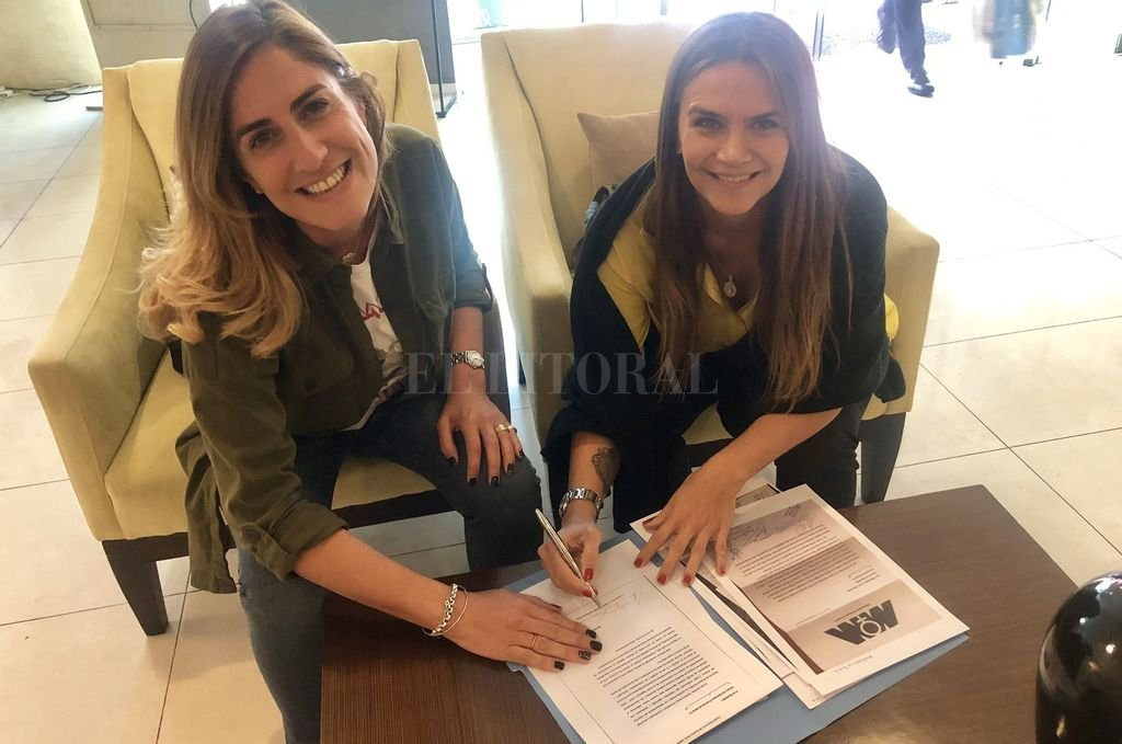 La diputada Cecira Arcando (Fe) y la diputada electa Amalia Granata (Unite por la Familia y la Vida). Crédito: Captura de Internet