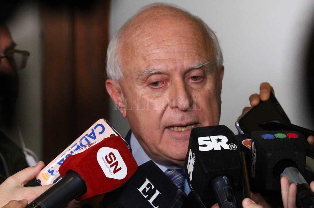 Lifschitz le dejará a Perotti el envío del presupuesto a la Legislatura -  -