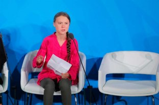 """Greta Thunberg dijo a los líderes mundiales que """"el cambio viene, les guste o no"""""""